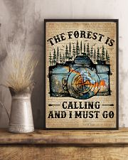 Dictionary The Forest Is Calling Camera 11x17 Poster lifestyle-poster-3