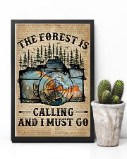 Dictionary The Forest Is Calling Camera 11x17 Poster lifestyle-poster-8