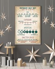 Photography Cheat Sheet 11x17 Poster lifestyle-holiday-poster-1