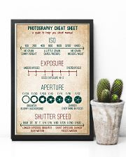 Photography Cheat Sheet 11x17 Poster lifestyle-poster-8