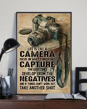 Life Is Like Camera Dictionary 16x24 Poster lifestyle-poster-2