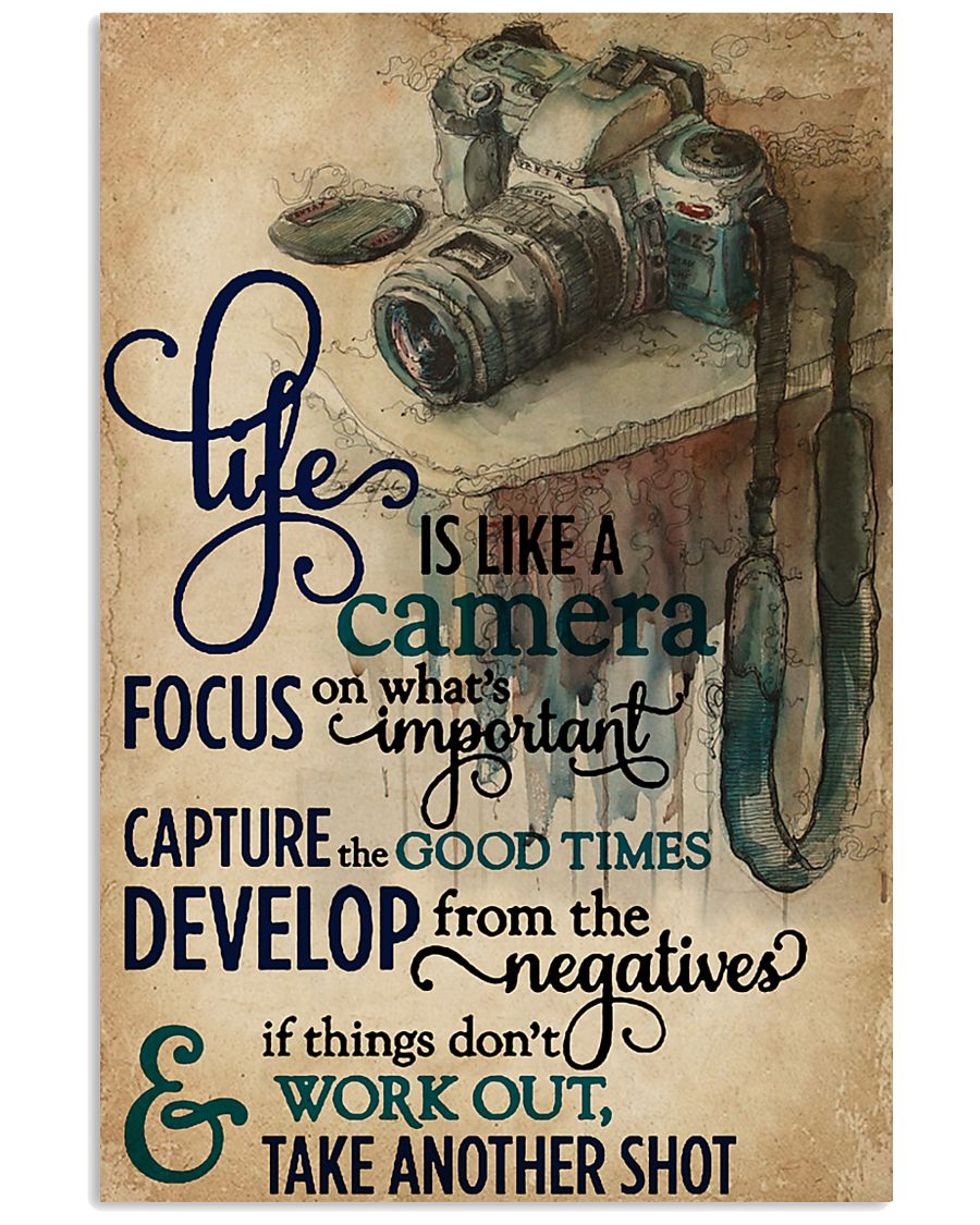 Life Is A Camera 11x17 Poster