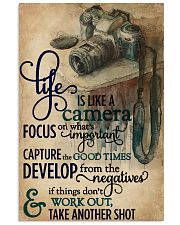 Life Is A Camera 11x17 Poster front