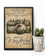 Music Sheet Wonderful World Camera 11x17 Poster lifestyle-poster-8