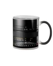 Camera Lens Detail Color Changing Mug tile