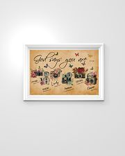 God Say You Are Flower Camera 24x16 Poster poster-landscape-24x16-lifestyle-02