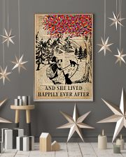 Vintage Lived Happily Black Cat Photography 11x17 Poster lifestyle-holiday-poster-1