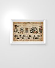 Catchphrase Works Willingly With Hand Photography 24x16 Poster poster-landscape-24x16-lifestyle-02