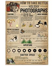 How To Take Better Holiday Photographs 11x17 Poster front