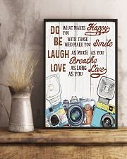 Photography Do What Make You Happy 11x17 Poster lifestyle-poster-3