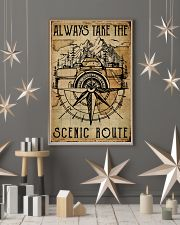Vintage Always Take The Scenic Route Camera 11x17 Poster lifestyle-holiday-poster-1