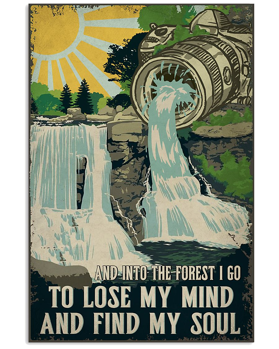 Retro And Into The Forest Camera 11x17 Poster