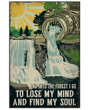 Retro And Into The Forest Camera 11x17 Poster front