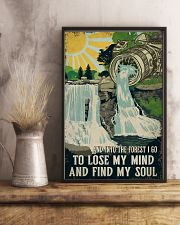 Retro And Into The Forest Camera 11x17 Poster lifestyle-poster-3