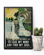 Retro And Into The Forest Camera 11x17 Poster lifestyle-poster-8