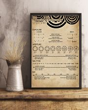Manual Photography Cheat Sheet 11x17 Poster lifestyle-poster-3