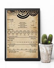 Manual Photography Cheat Sheet 11x17 Poster lifestyle-poster-8