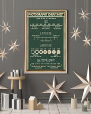 Retro Green Photography Cheat Sheet 16x24 Poster lifestyle-holiday-poster-1