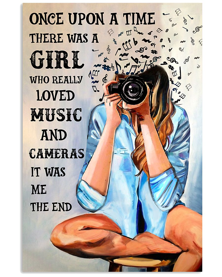 Once Upon A Time Loved Music And Photography 16x24 Poster