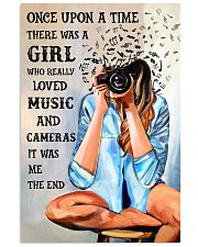Once Upon A Time Loved Music And Photography 16x24 Poster front