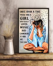 Once Upon A Time Loved Music And Photography 16x24 Poster lifestyle-poster-3