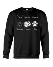 Sunshine Camera And Dog - On sale Crewneck Sweatshirt thumbnail