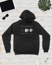Sunshine Camera And Dog - On sale Hooded Sweatshirt lifestyle-unisex-hoodie-front-8