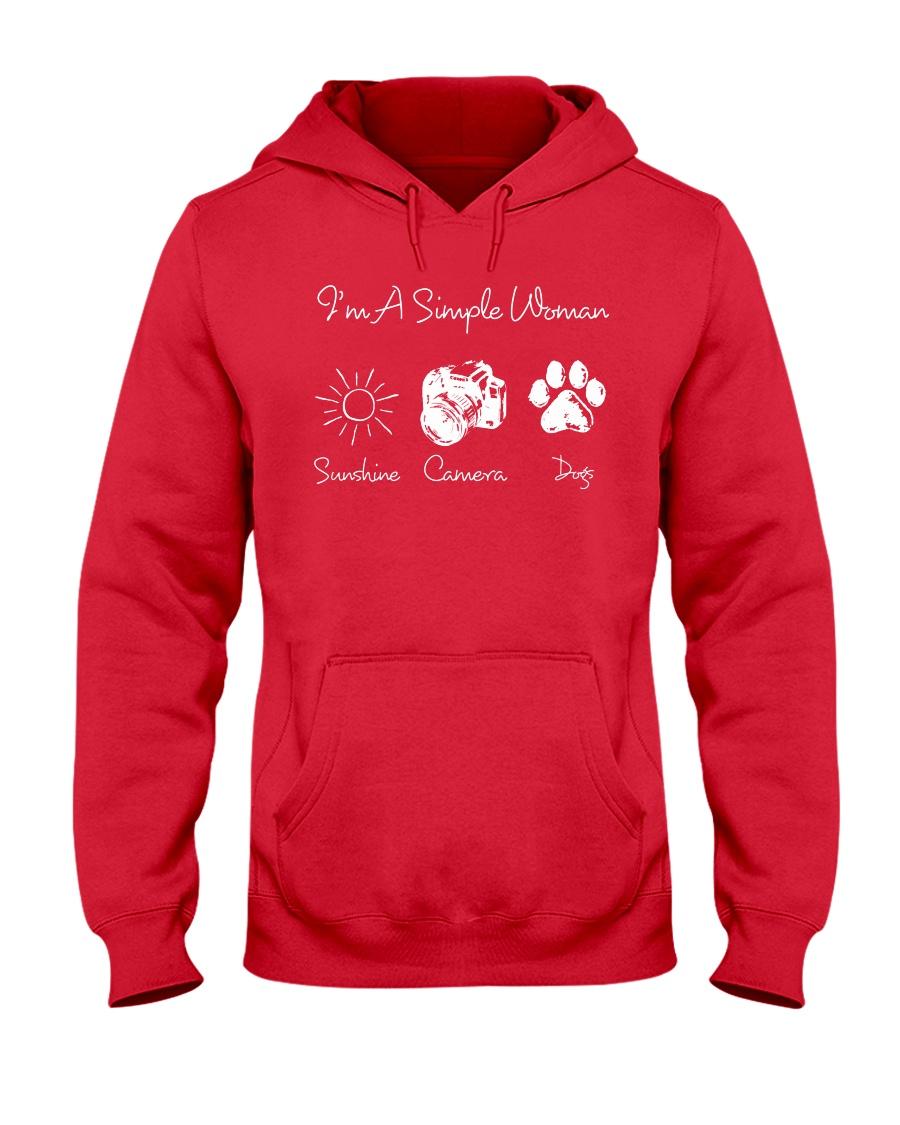 Sunshine Camera And Dog - On sale Hooded Sweatshirt