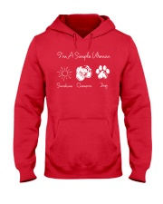 Sunshine Camera And Dog - On sale Hooded Sweatshirt front