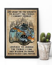 God grant me Dictionary Blue Camera 11x17 Poster lifestyle-poster-8