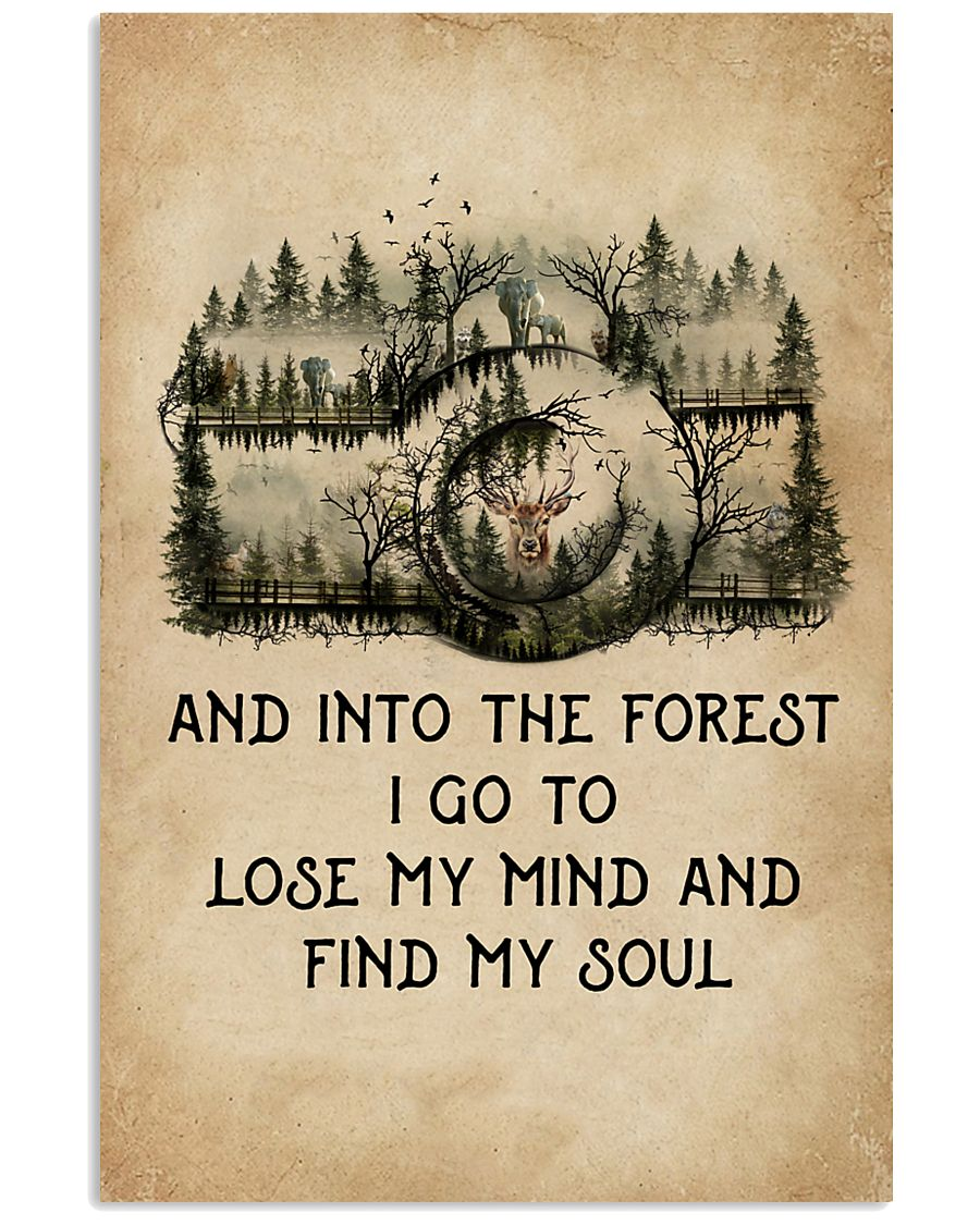 Into The Forest I Go To Lose My Mind Camera 11x17 Poster