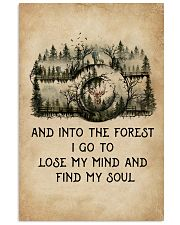 Into The Forest I Go To Lose My Mind Camera 11x17 Poster front