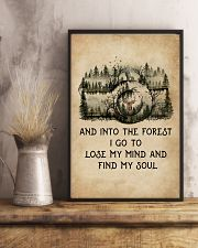 Into The Forest I Go To Lose My Mind Camera 11x17 Poster lifestyle-poster-3