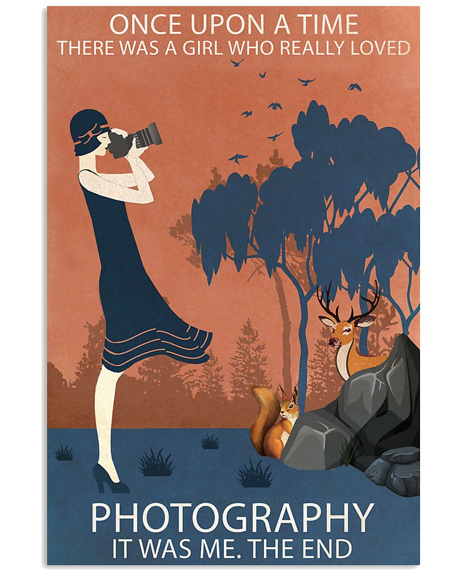 Vintage Girl Once Upon A Time Photography 11x17 Poster