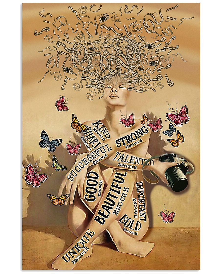 Enough Camera Girl 16x24 Poster