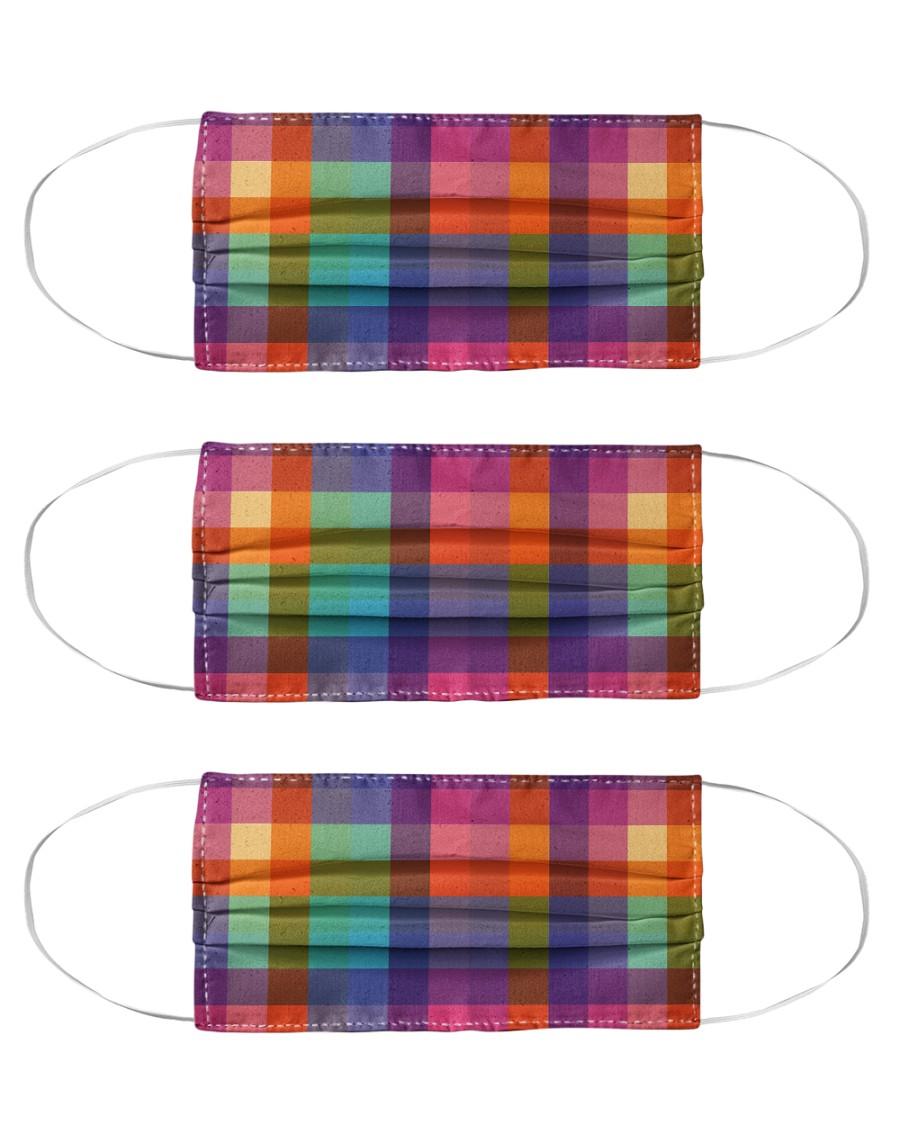 Buffalo seamless pattern Cloth Face Mask - 3 Pack