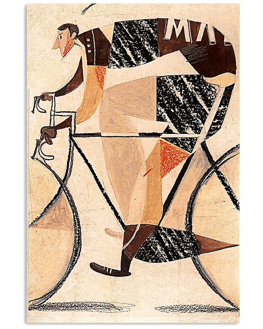 Cycling Lovers 16x24 Poster