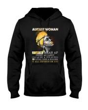 August Woman Hooded Sweatshirt thumbnail