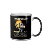 August Woman Color Changing Mug thumbnail