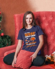 WKRP Funny Ladies T-Shirt lifestyle-holiday-womenscrewneck-front-2