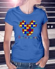 Autism Awareness  Ladies T-Shirt lifestyle-women-crewneck-front-7