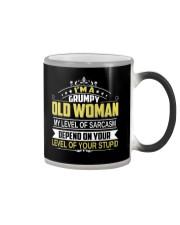 GRUMPY OLD WOMEN Color Changing Mug thumbnail
