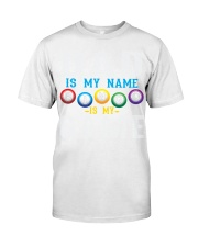 FUNNY DAD IS MY NAME BINGO IS MY GAME Classic T-Shirt thumbnail