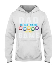 FUNNY DAD IS MY NAME BINGO IS MY GAME Hooded Sweatshirt thumbnail