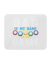 FUNNY DAD IS MY NAME BINGO IS MY GAME Mousepad front