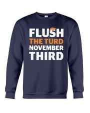 Flush The turd November Third shirt LIMITED UNITS Crewneck Sweatshirt thumbnail