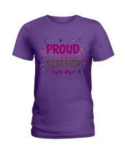 Proud to be Scottish limited edition Ladies T-Shirt front