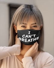 I can't breathe mask LIMITED EDITION Cloth Face Mask - 3 Pack aos-face-mask-lifestyle-18