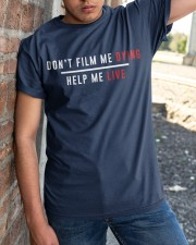 Don't film me  - Shirt - support Black community  Classic T-Shirt apparel-classic-tshirt-lifestyle-27