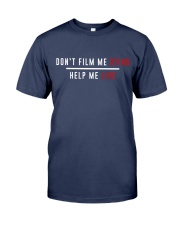 Don't film me  - Shirt - support Black community  Premium Fit Mens Tee thumbnail